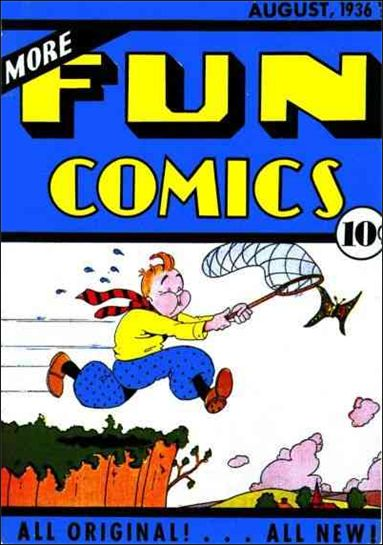 More Fun Comics 12-A by DC