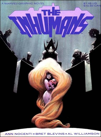 Inhumans • A Marvel Graphic Novel nn-A by Marvel