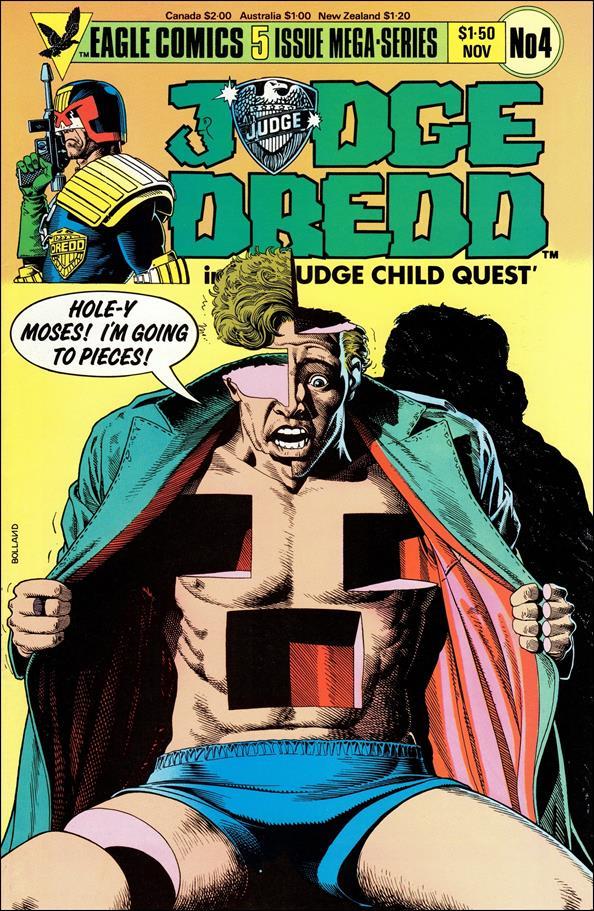 Judge Child 4-A by Eagle Comics