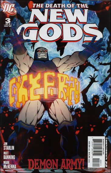 Death of the New Gods 3-A by DC