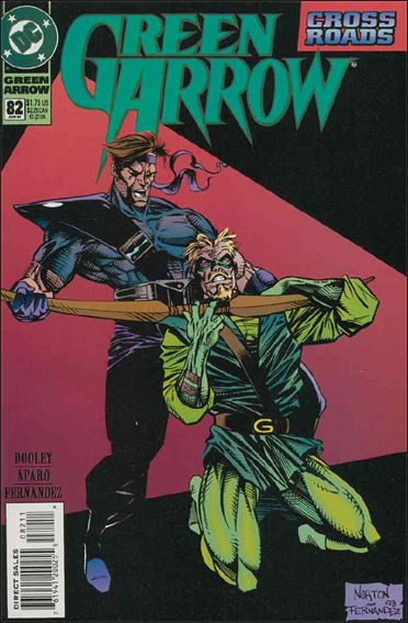 Green Arrow (1988) 82-A by DC