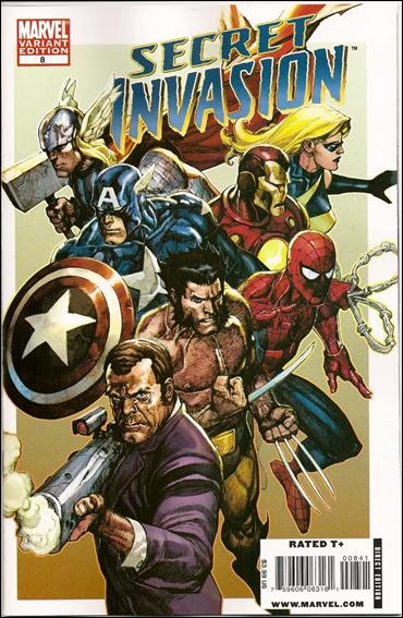 Secret Invasion 8-B by Marvel
