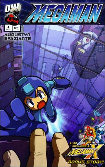 Megaman 4-A by Dreamwave