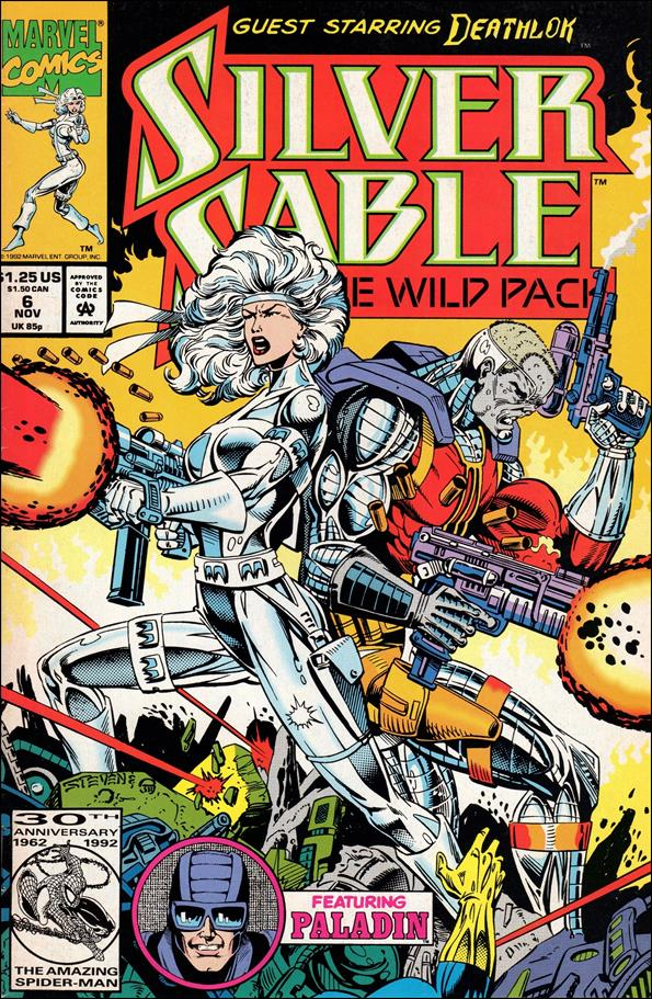 Silver Sable & The Wild Pack 6-A by Marvel