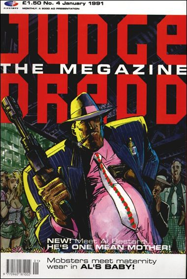 Judge Dredd Megazine (1990) 4-A by Fleetway