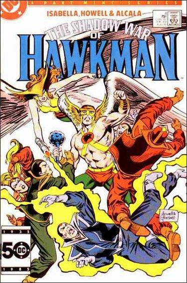 Shadow War of Hawkman 4-A by DC