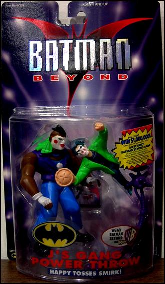 Batman Beyond J's Gang Power Throw by Hasbro