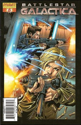 Battlestar Galactica (2006) 8-A by Dynamite Entertainment