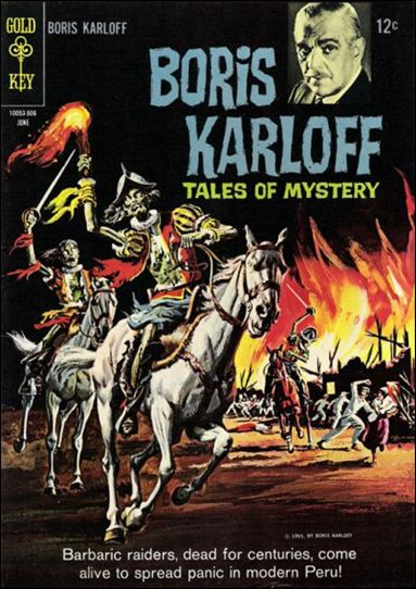 Boris Karloff Tales of Mystery 10-A by Gold Key