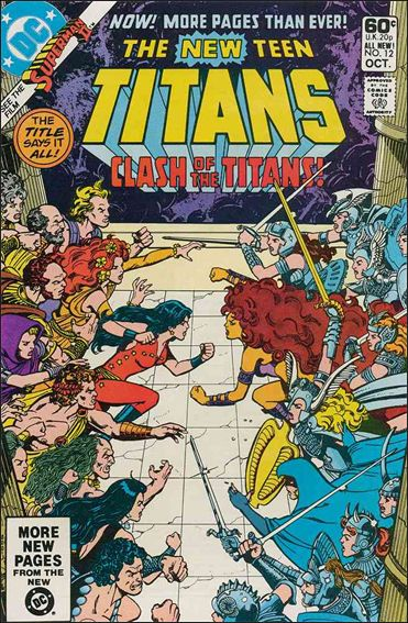 New Teen Titans (1980) 12-A by DC
