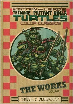 Teenage Mutant Ninja Turtles: The Works 1-A by IDW