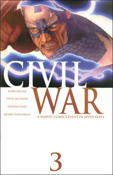 Civil War (2006) 3-A by Marvel