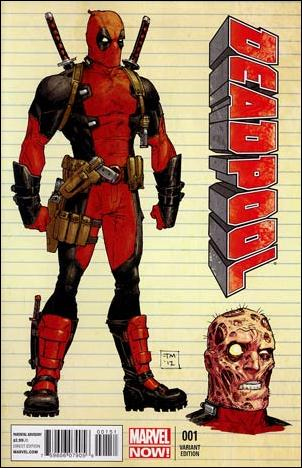Deadpool (2013) 1-C by Marvel