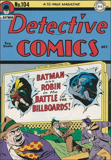 Detective Comics (1937) 104-A by DC