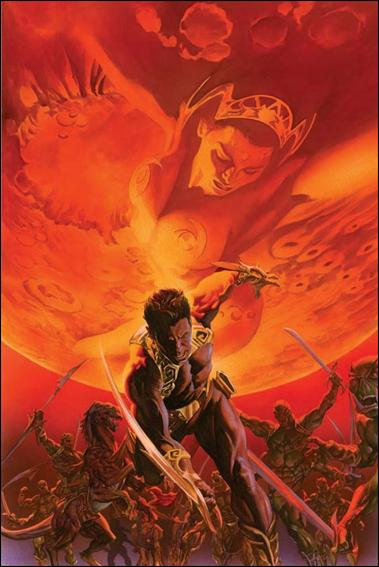 Warlord of Mars 1-F by Dynamite Entertainment