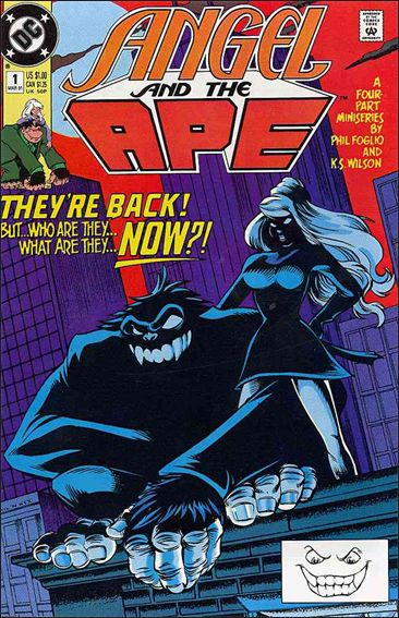 Angel and the Ape (1991) 1-A by DC