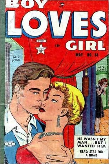 Boy Loves Girl 34-A by Lev Gleason Productions