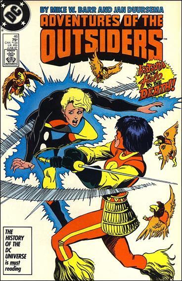 Adventures of the Outsiders 46-A by DC