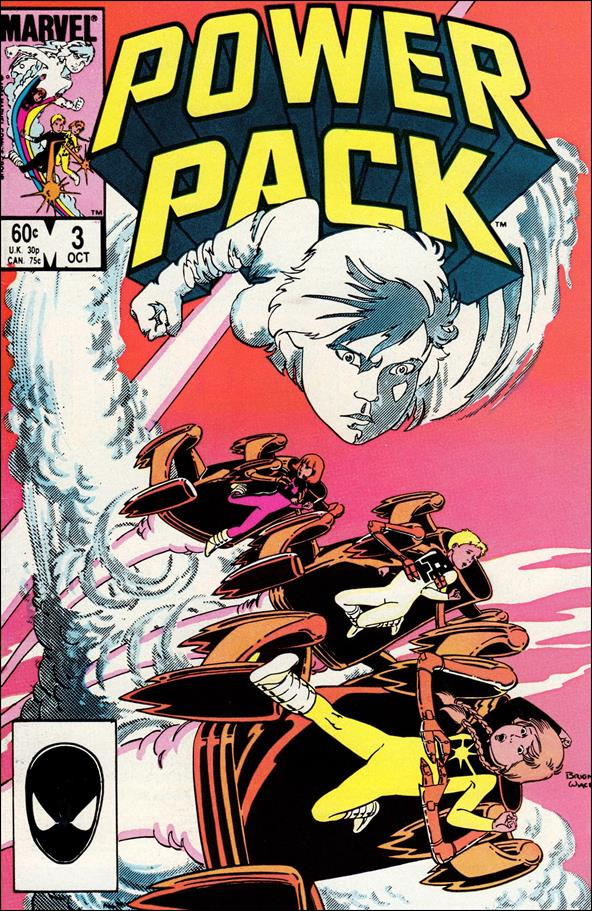 Power Pack (1984) 3-A by Marvel
