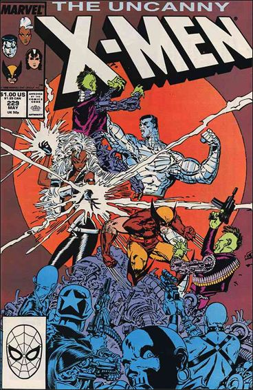 Uncanny X-Men (1981) 229-A by Marvel