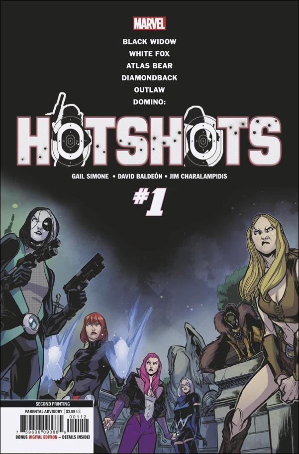 Domino: Hotshots 1-E by Marvel