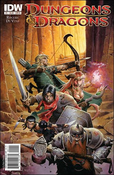 Dungeons & Dragons 1-B by IDW