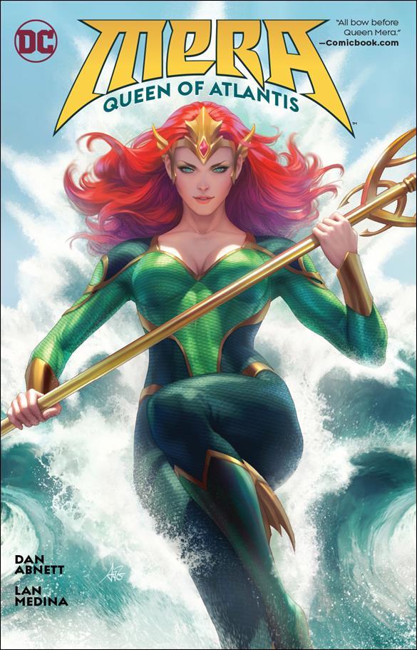 Mera: Queen of Atlantis nn-A by DC