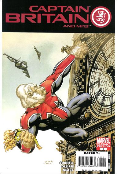 Captain Britain and MI13 5-B by Marvel