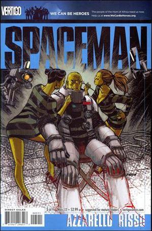 Spaceman (2011) 5-A