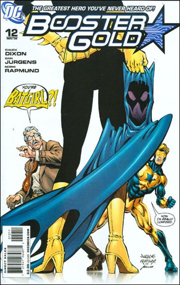 Booster Gold (2007) 12-A by DC