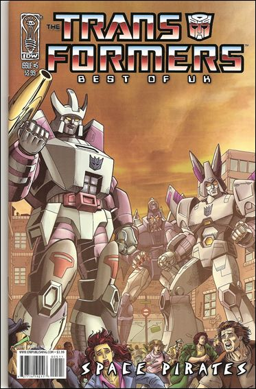 Transformers: Best of UK - Space Pirates 5-A by IDW