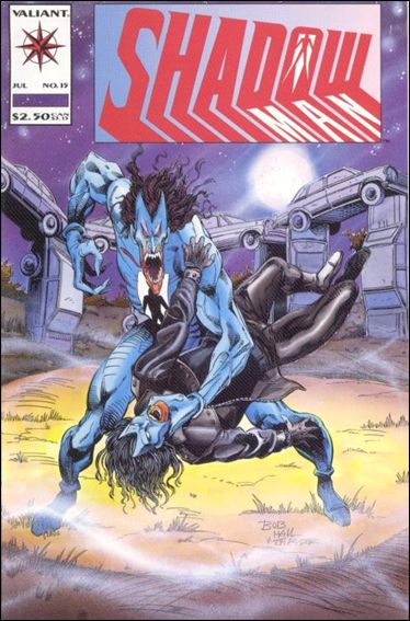Shadowman (1992) 15-A by Valiant