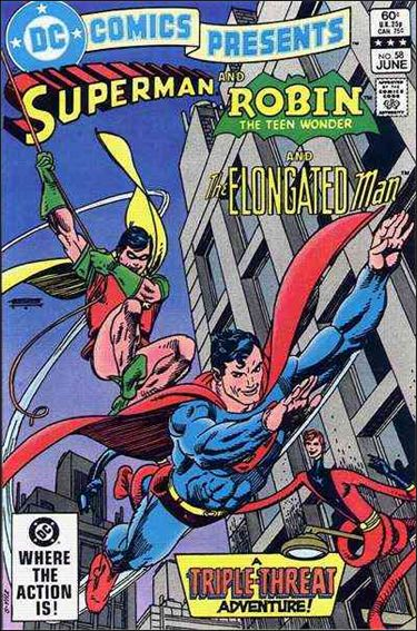 DC Comics Presents 58-A by DC