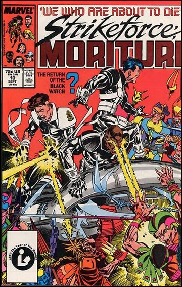 Strikeforce: Morituri 10-A by Marvel