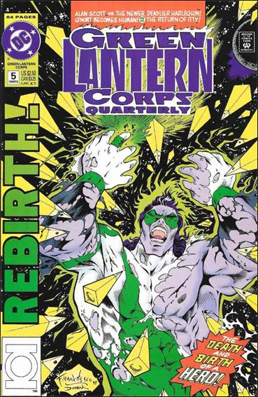 Green Lantern Corps Quarterly 5-A by DC