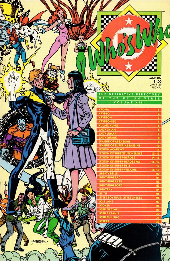 Who's Who: The Definitive Directory of the DC Universe 13-A by DC