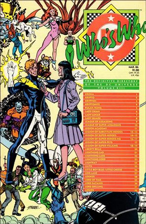 Who's Who: The Definitive Directory of the DC Universe 13-A