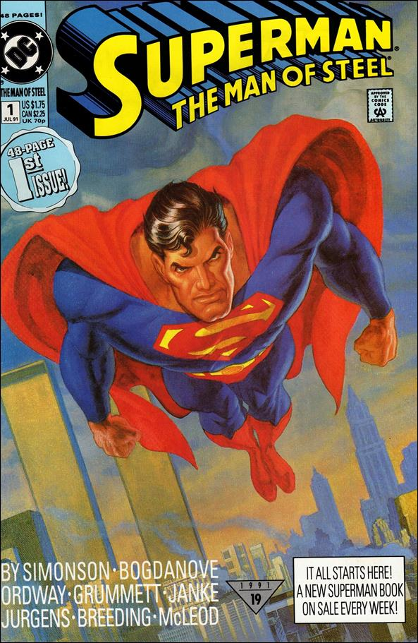 Superman: The Man of Steel 1-A by DC