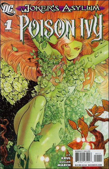 Joker's Asylum: Poison Ivy 1-A by DC
