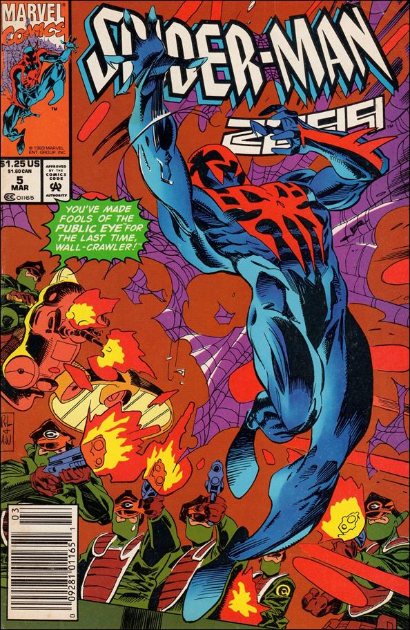 Spider-Man 2099 (1992) 5-A by Marvel