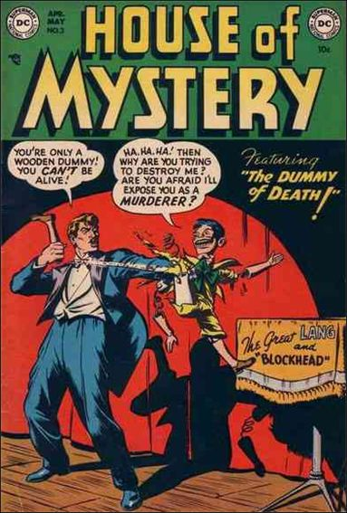 House of Mystery (1951) 3-A by DC