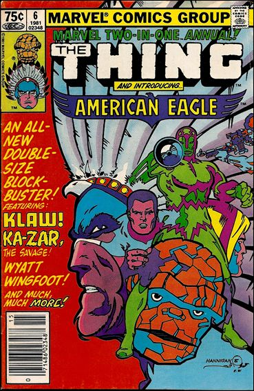 Marvel Two-in-One Annual 6-A by Marvel