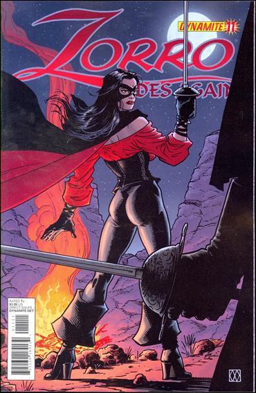 Zorro Rides Again 11-A by Dynamite Entertainment