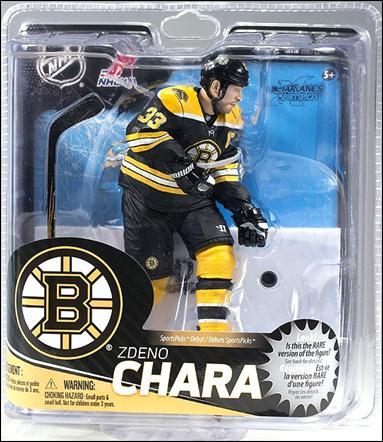 NHL (Series 31) Zdeno Chara (Black Jersey) by McFarlane Toys