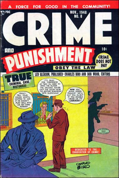 Crime and Punishment 8-A by Lev Gleason Productions
