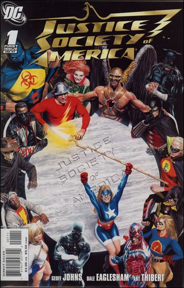 Justice Society of America (2007) 1-A by DC