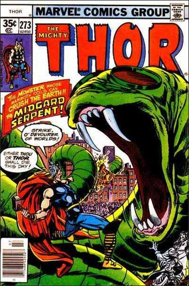 Thor (1966) 273-A by Marvel