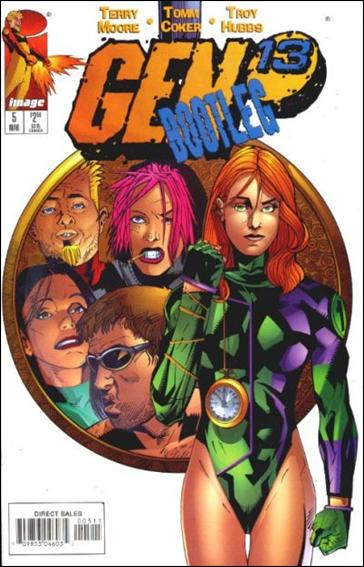 Gen13 Bootleg 5-A by WildStorm