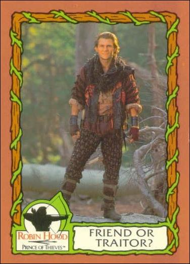 Robin Hood, Prince of Thieves (Base Set) 64-A by Topps