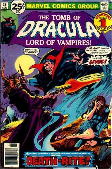 Tomb of Dracula (1972) 47-A by Marvel